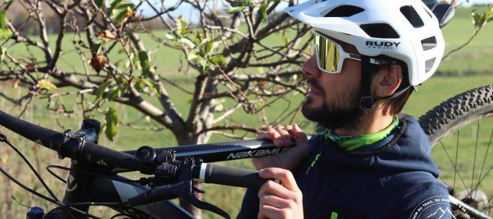 Casque Crossway et lunettes Spinshield : la classe italienne façon Rudy Project