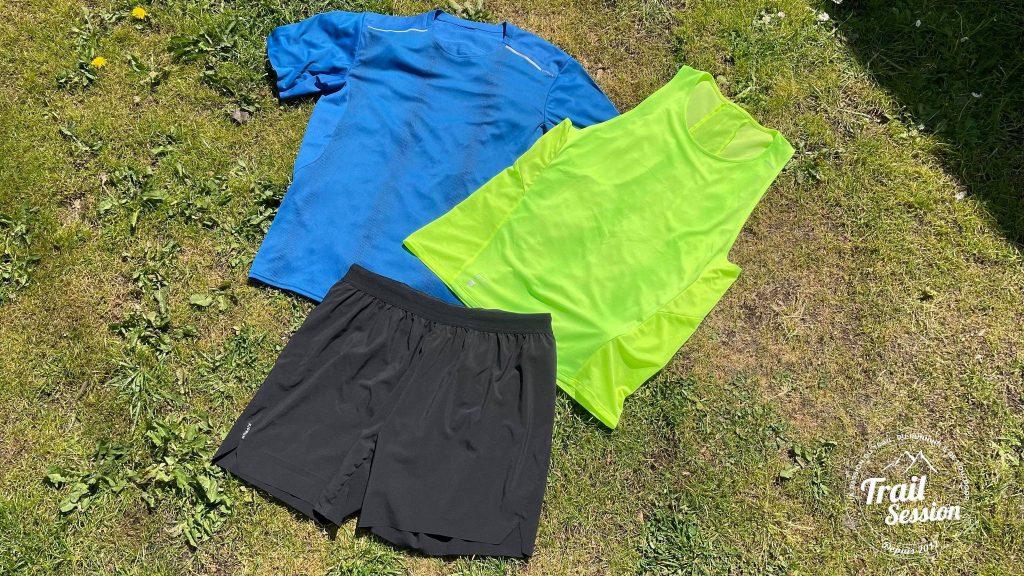 T-Shirt + Débardeur + Short Kiprun Light