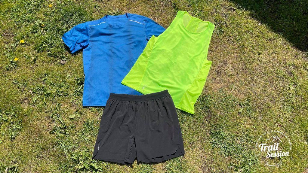 T-Shirt, Short et Débardeur Kiprun Light