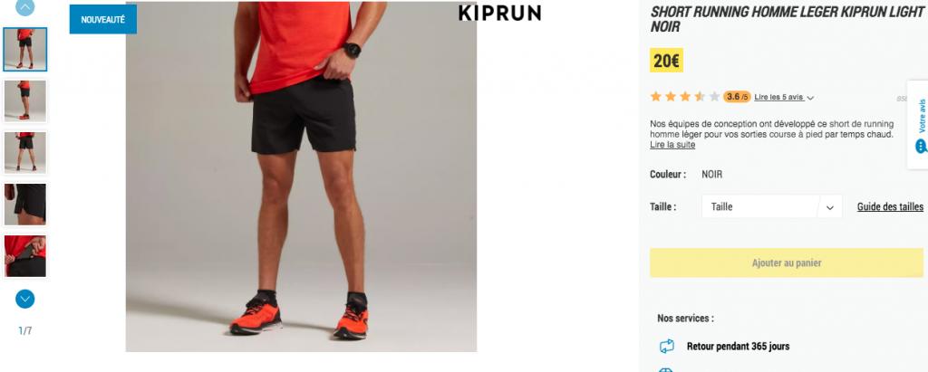 Short Kiprun Light