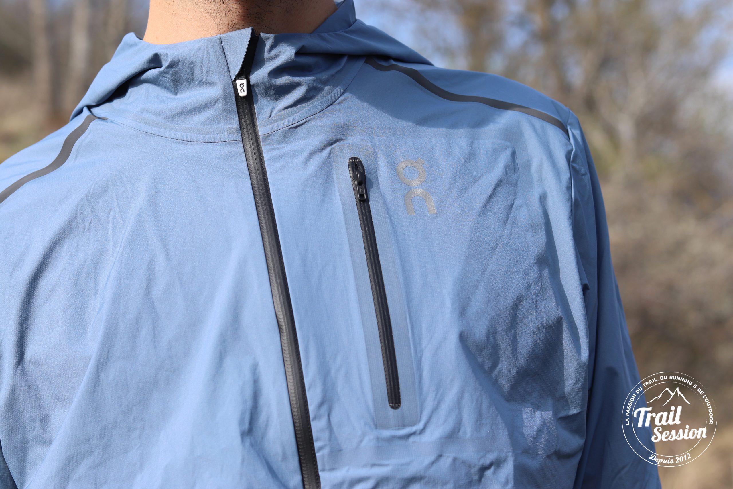 Weather Jacket de On Running poche poitrine