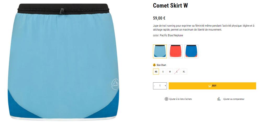 Comet Skirt La Sportiva