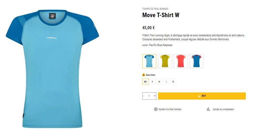 Move T-Shirt La Sportiva