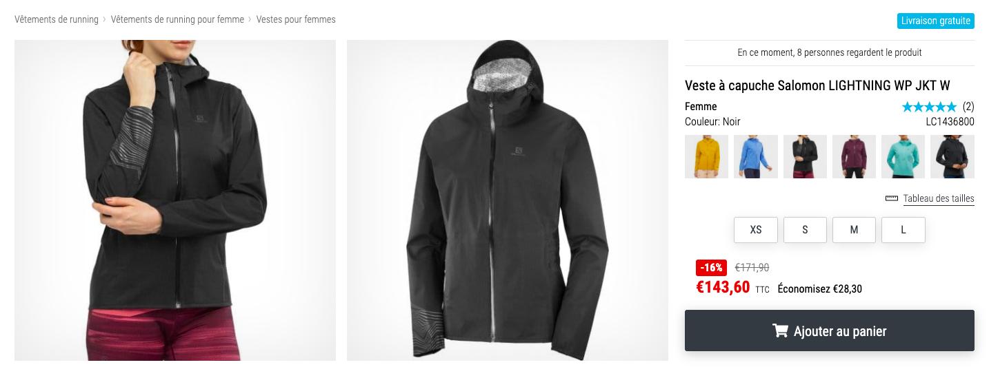 Top 5 Vêtements