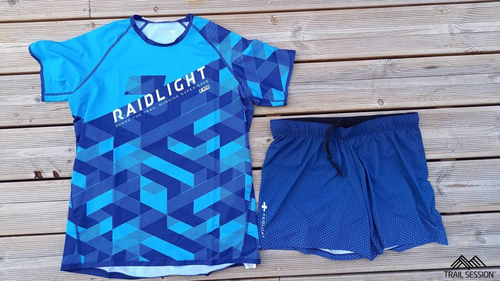Panoplie textiles Raidlight