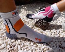 X-SOCKS : retour croisé de chaussettes full confort