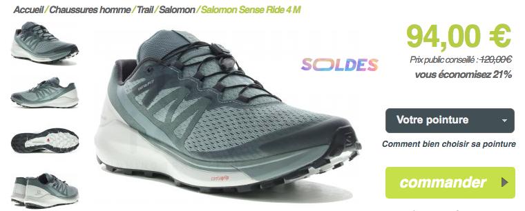 Salomon Sense Ride 4